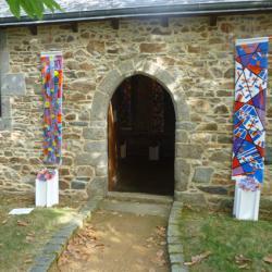 Entrée de la chapelle de Saint-Eloi