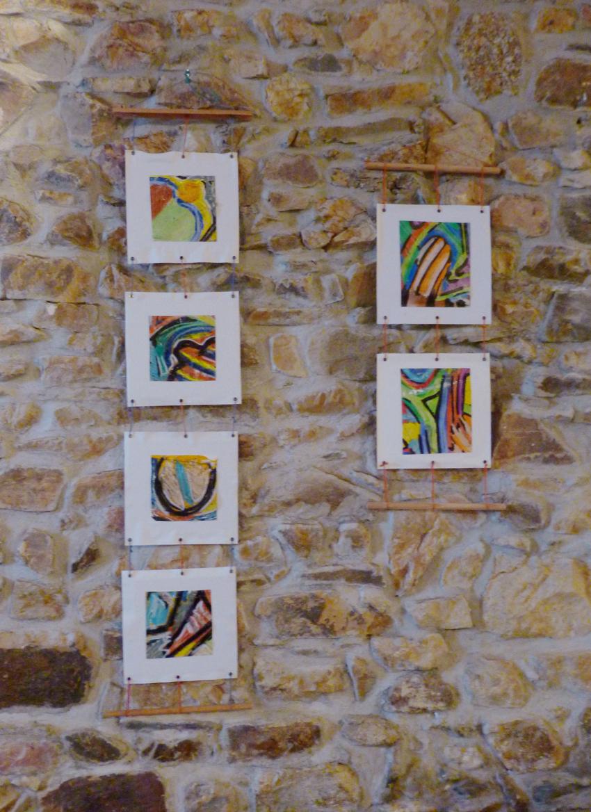 Peintures sur papier et toile