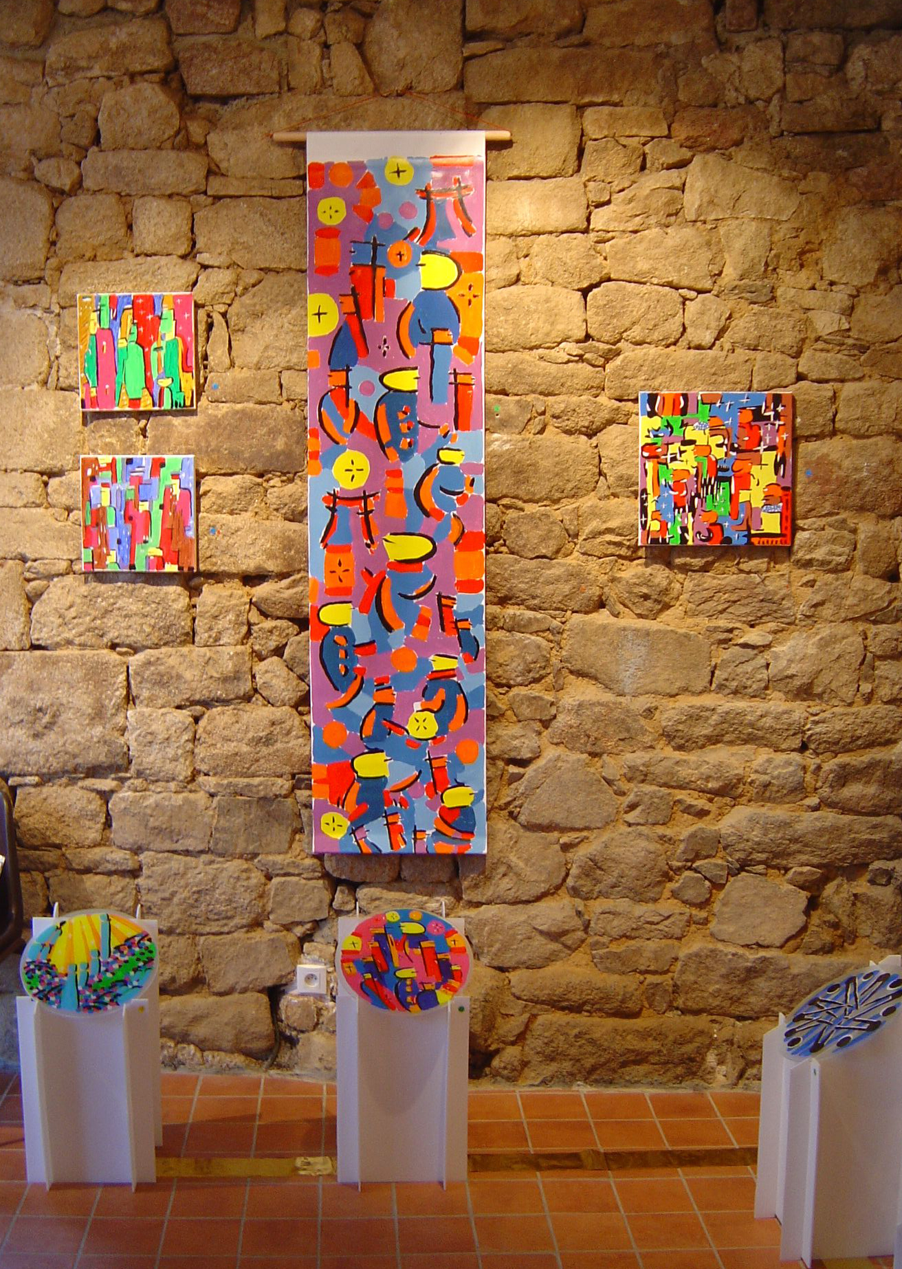 Kakemono et peintures / Galerie du haut